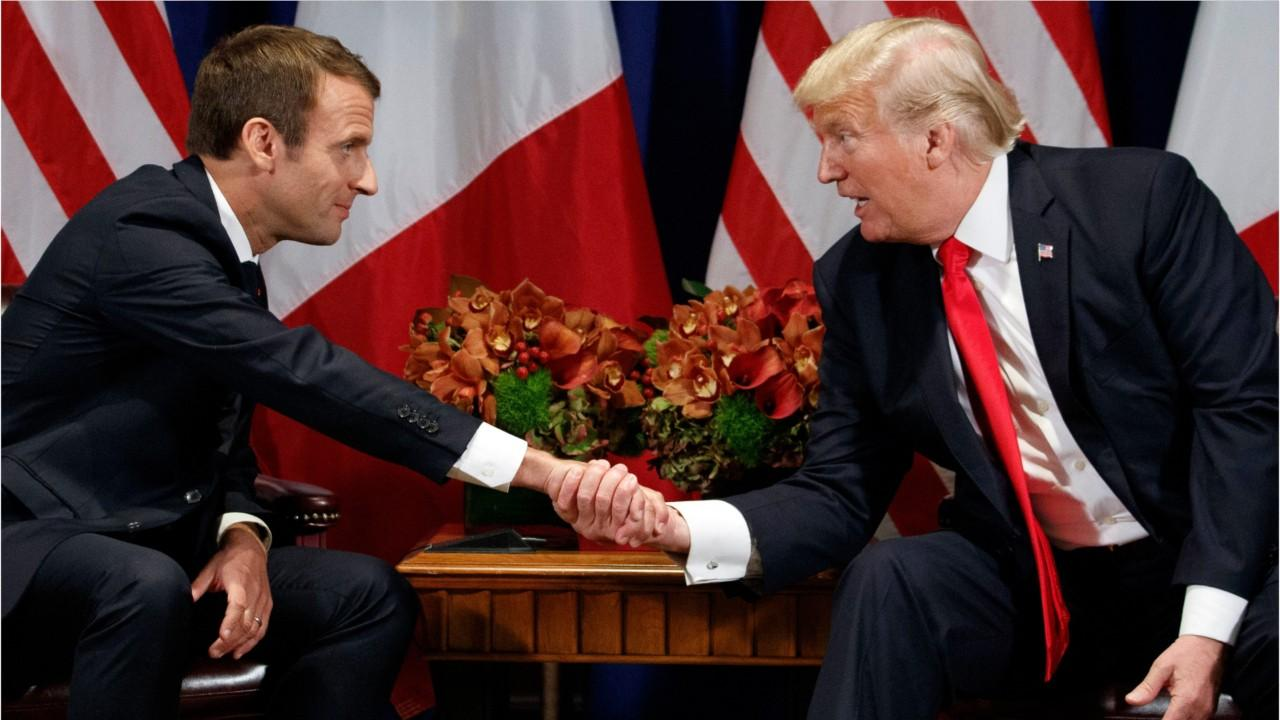Macron Urges Trump To Honor Iran Deal