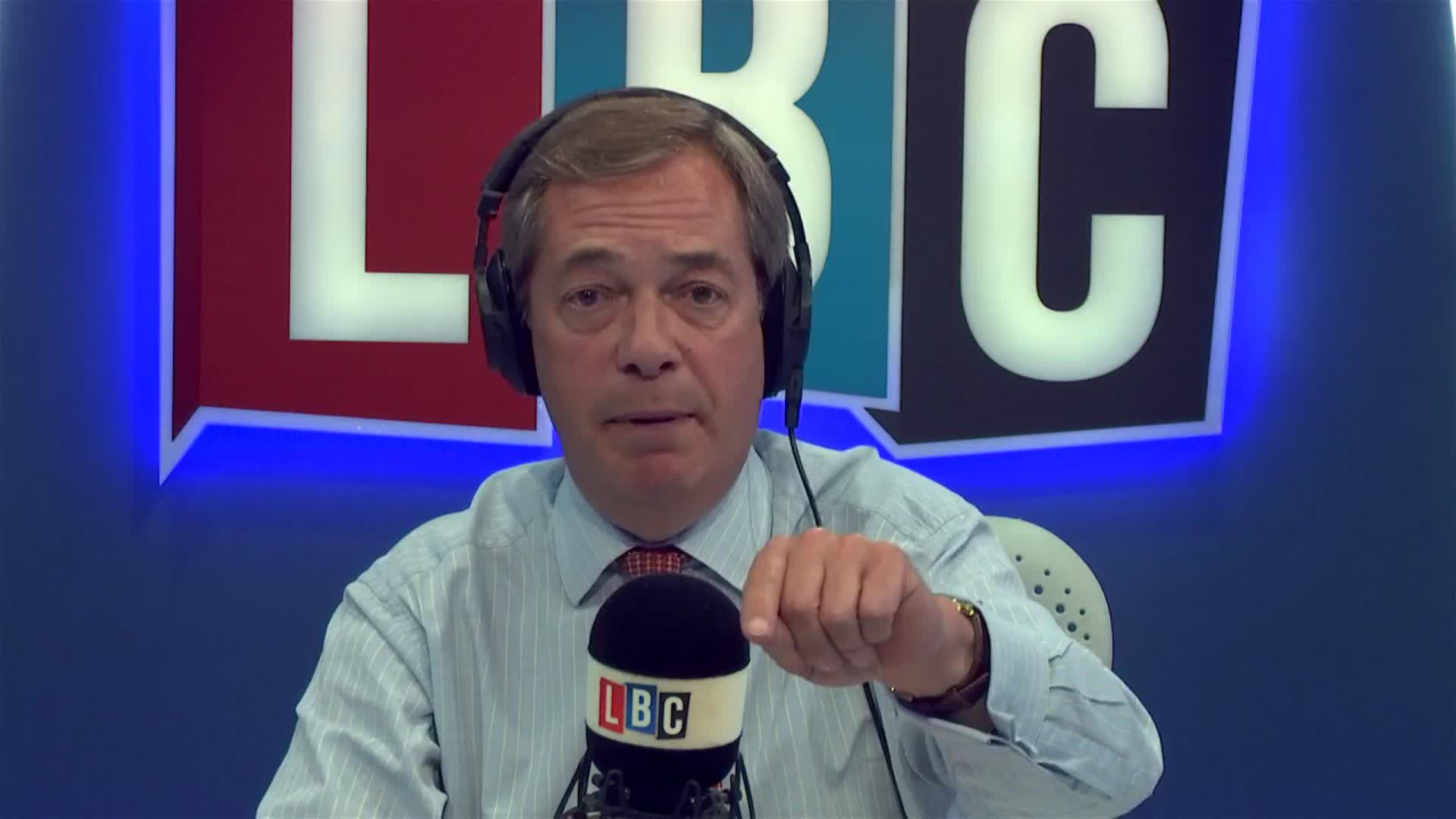 """Nigel Farage Delivers Complaint To BBC Over """"Blood On Hands"""" Report"""