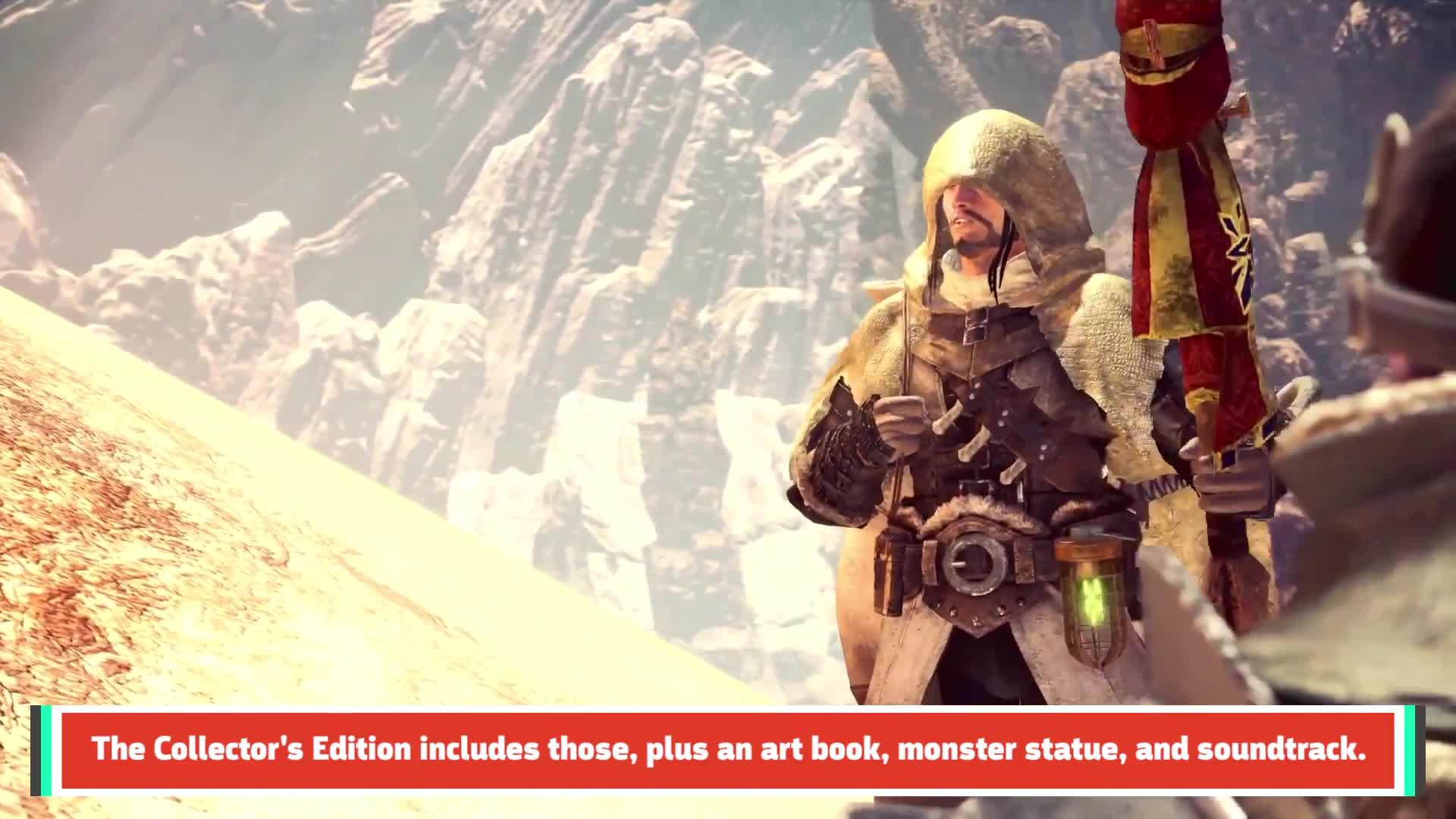 GS News Update: Monster Hunter World Special Editions, Pre-Order Bonuses Announced