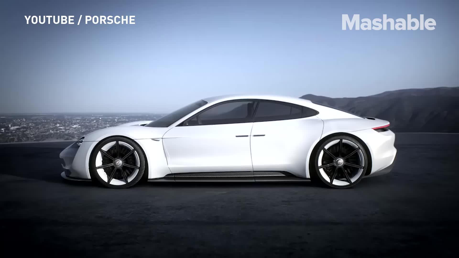 Porsche's electric car might just give Tesla a run for its money