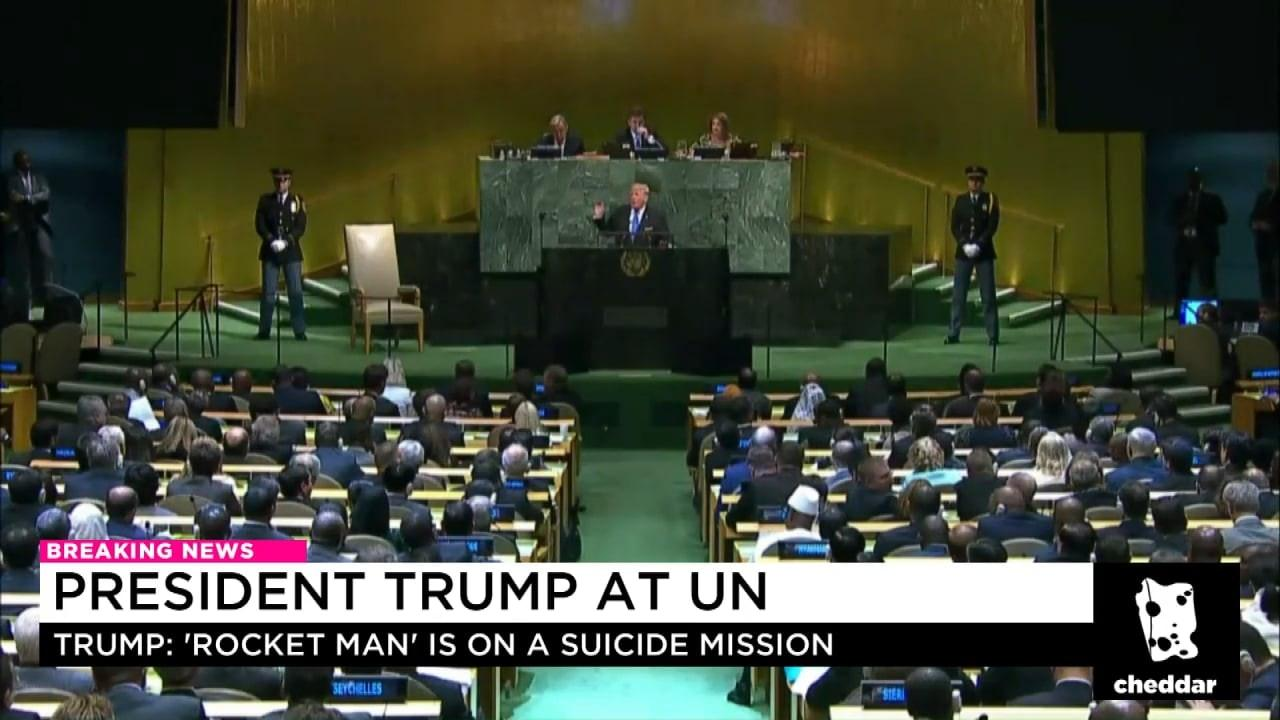 President Trump Goes After Iran at UN
