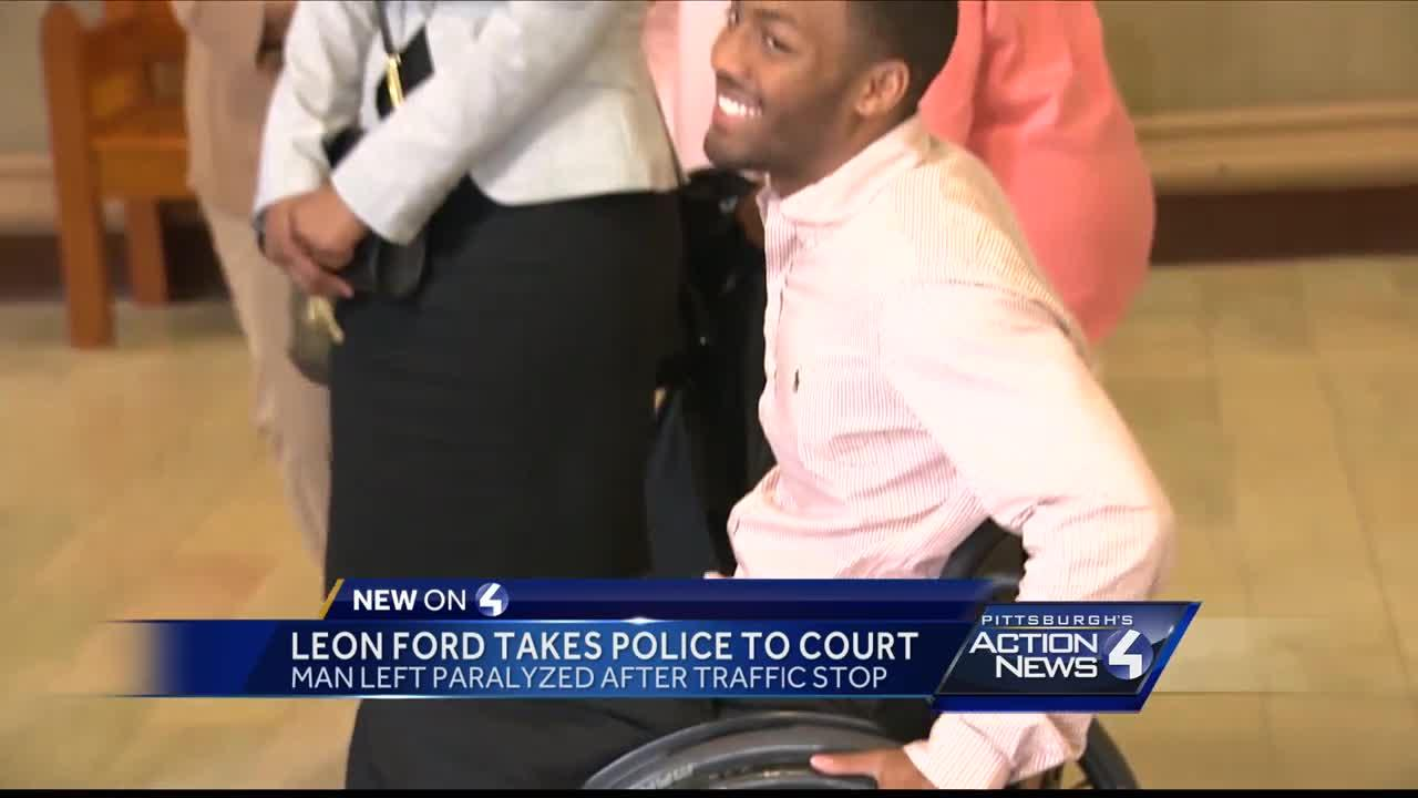 Leon Ford takes police to court