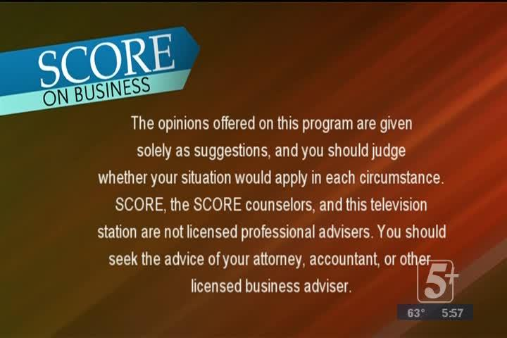SCORE on Business: Epiphany Creative Services P. 3
