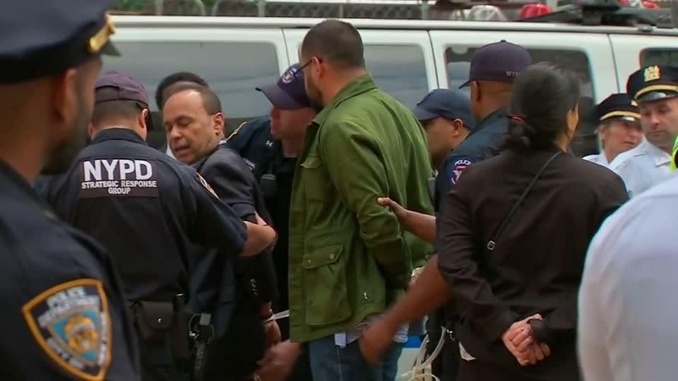 Dems among those arrested at Trump Tower immigration protest