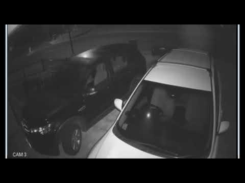 Chilling CCTV Shows Murdered Man's Final Moments Before Shooting