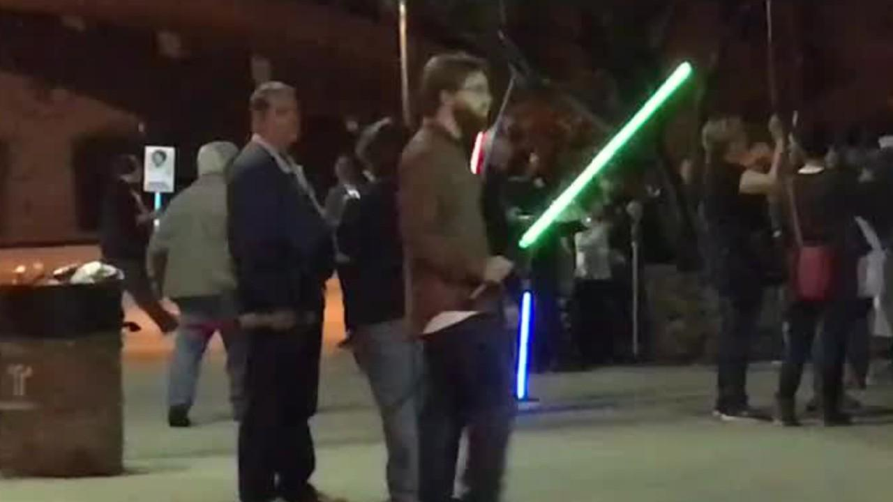 Lucasfilm Successfully Builds Working Lightsaber?