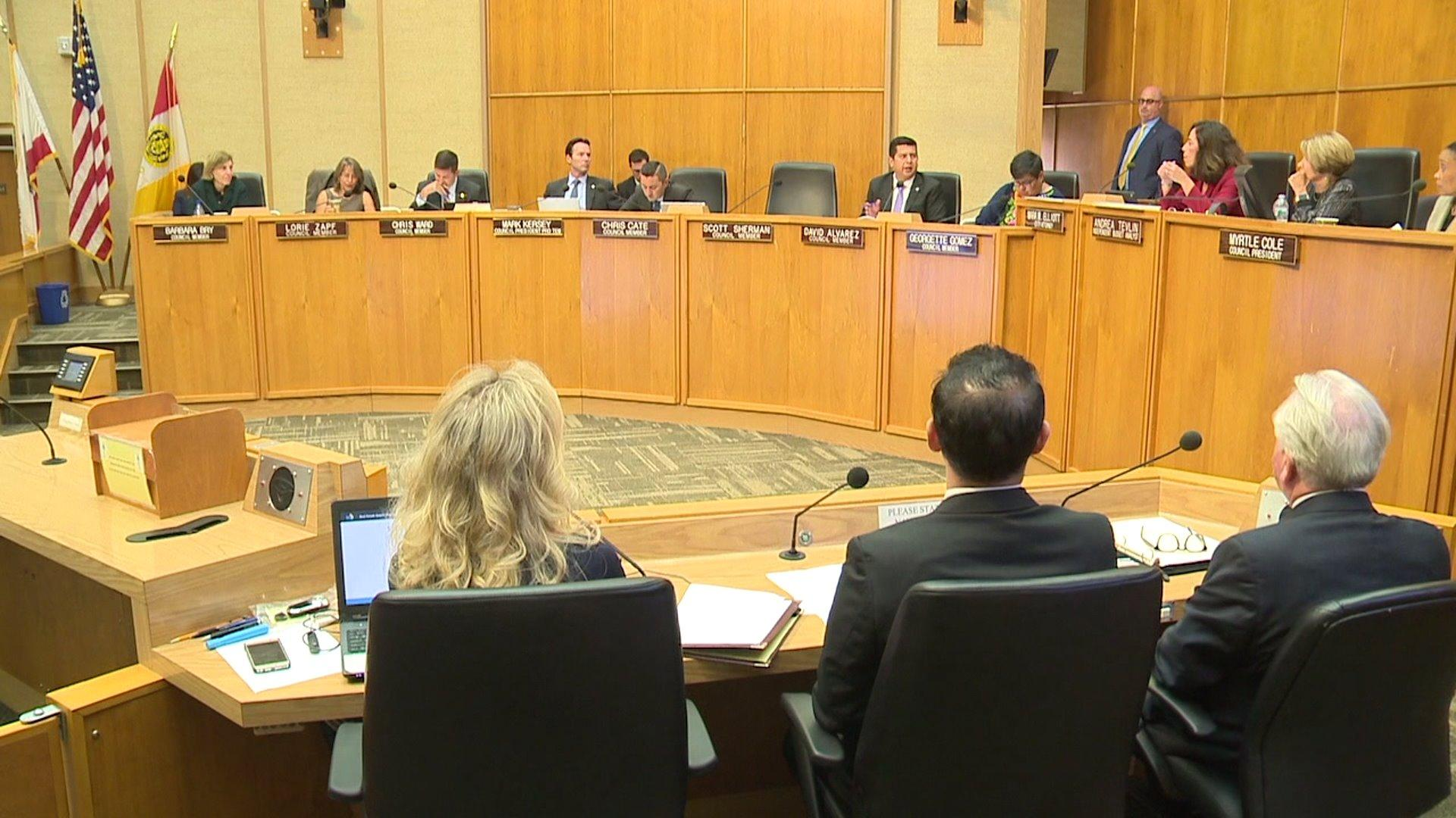 San Diego City Council Passes Resolution Opposing President Trump`s Border Wall
