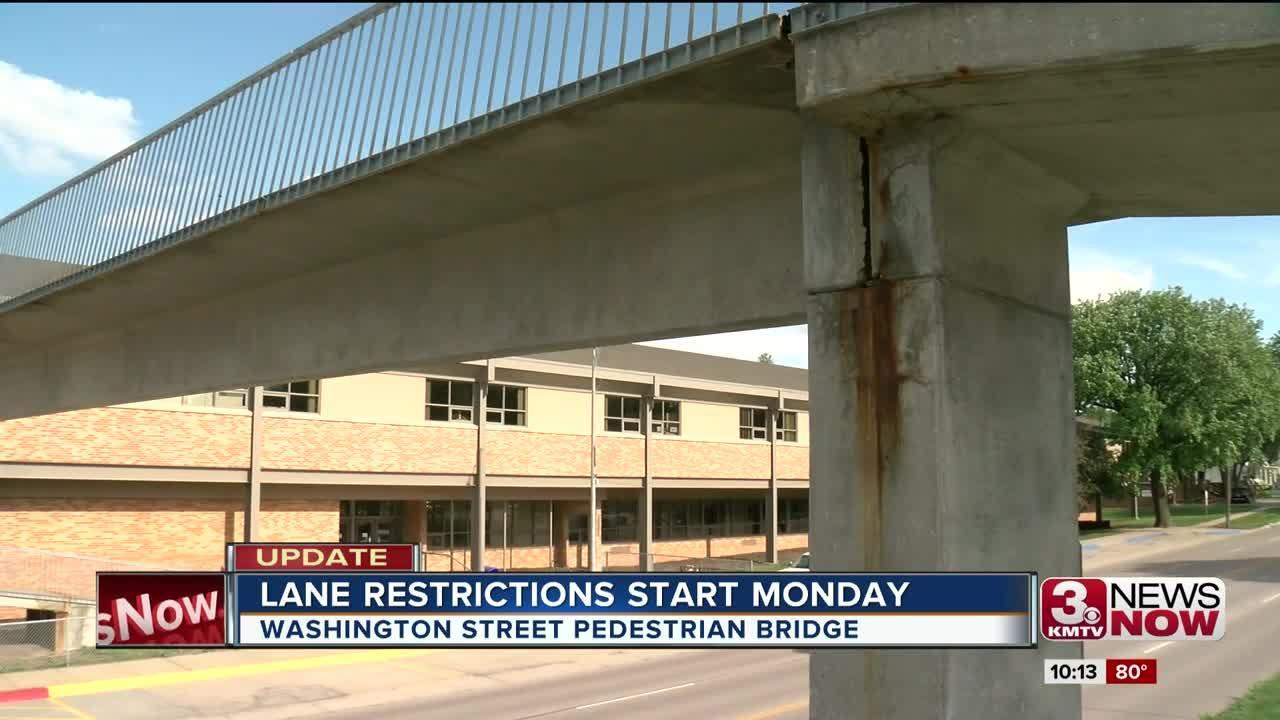 Papillion pedestrian bridge construction to start Monday