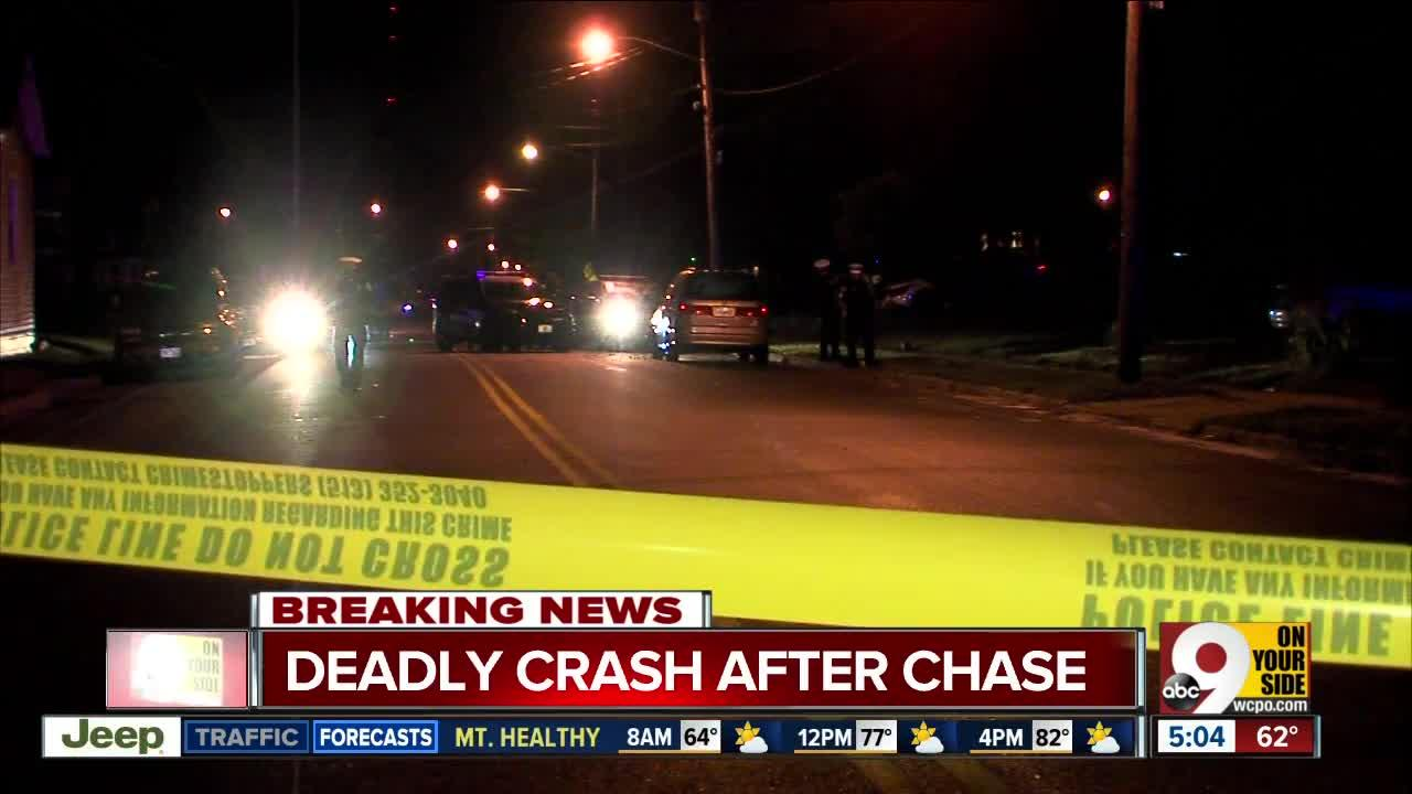 Springfield Township police chase ends with fatal crash in Carthage