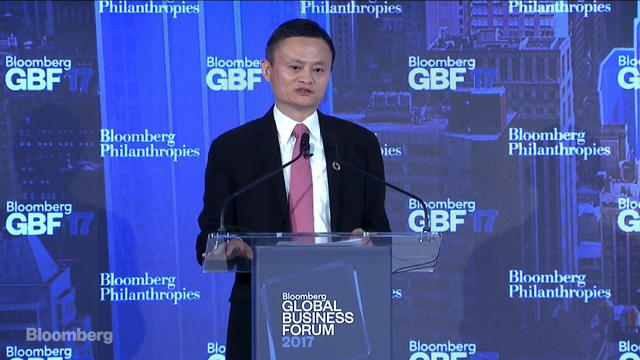 Jack Ma on Building the Economy of the Future