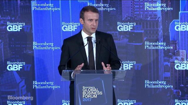 Emmanuel Macron on the New French Economy