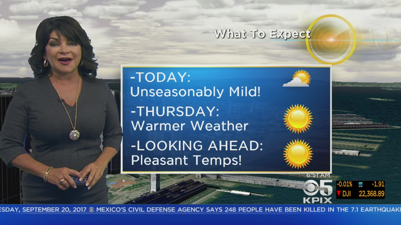 Wednesday Morning Forecast With Roberta Gonzales
