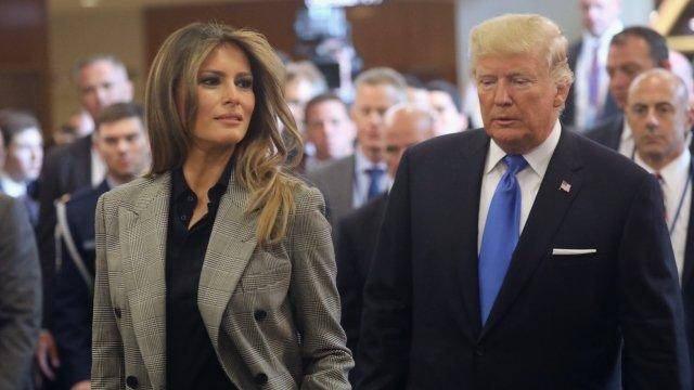 Melania Trump Speaks Up For Kids At UN Luncheon