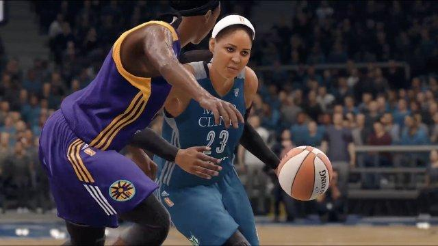 All WNBA Teams in New NBA Video Game