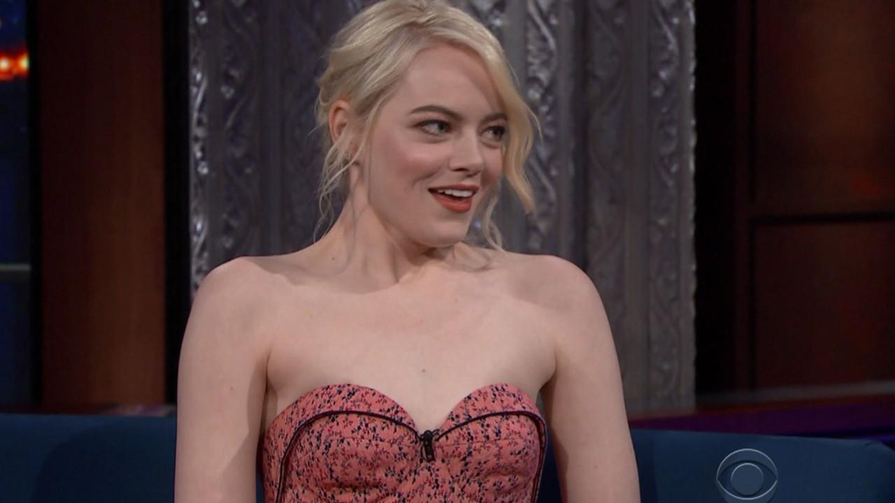 Emma Stone Seen With Hillary Clinton's Book
