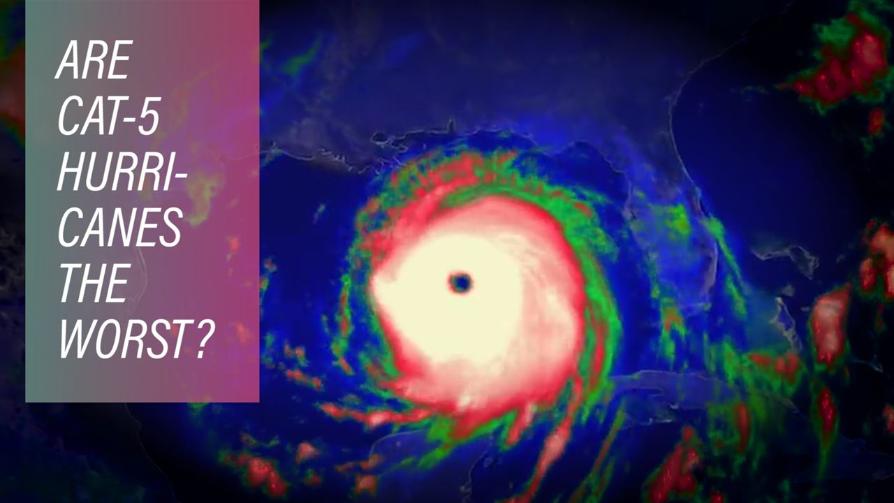 Facts and figures from the eyes of Irma and Maria
