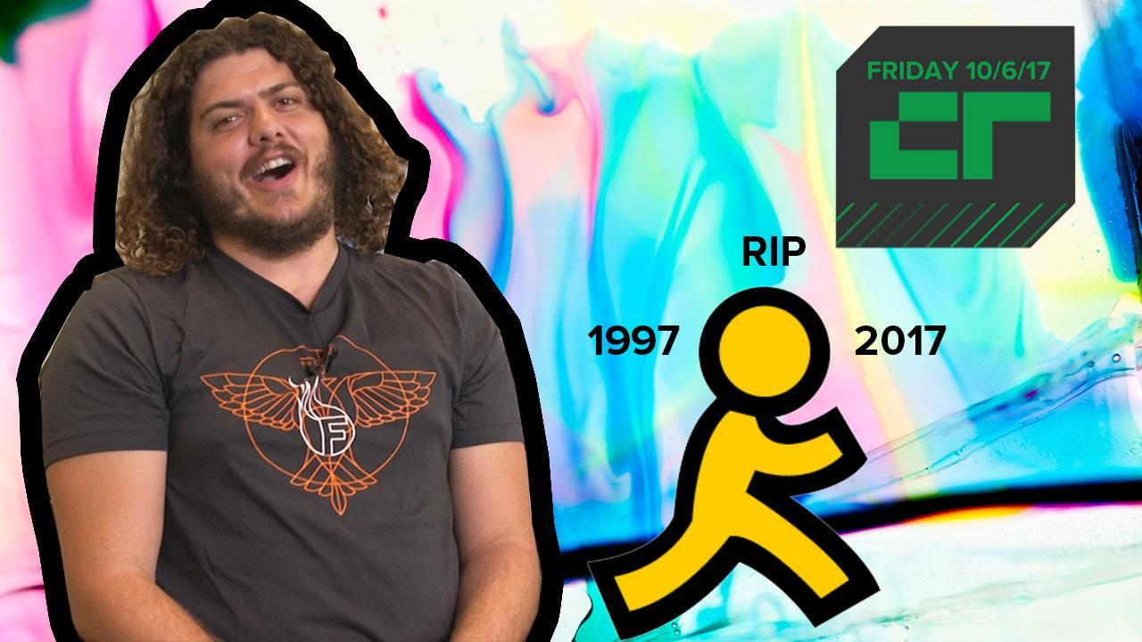 Crunch Report | AOL Instant Messenger Is Shutting Down 59d800392a30cb1ebcb6d676 o U v1