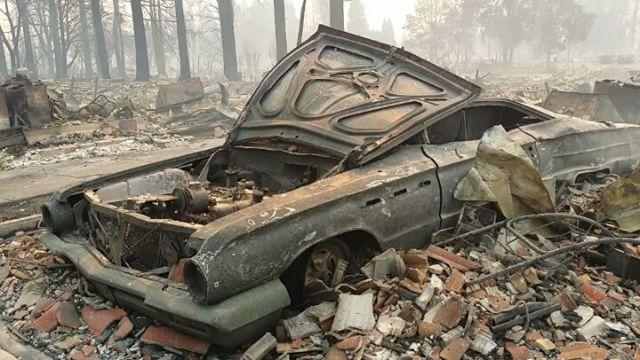 Custom Car Garage Owner Recovering from California's Tubbs Fire