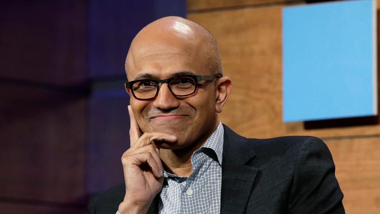 Microsoft Praises CEO Satya Nadella