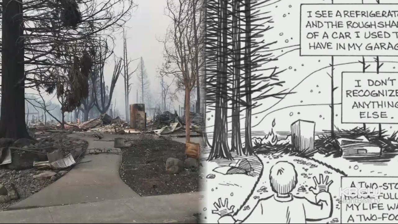 California Cartoonist Creates Comic Strip To Process Losing His Home To A Wildfire
