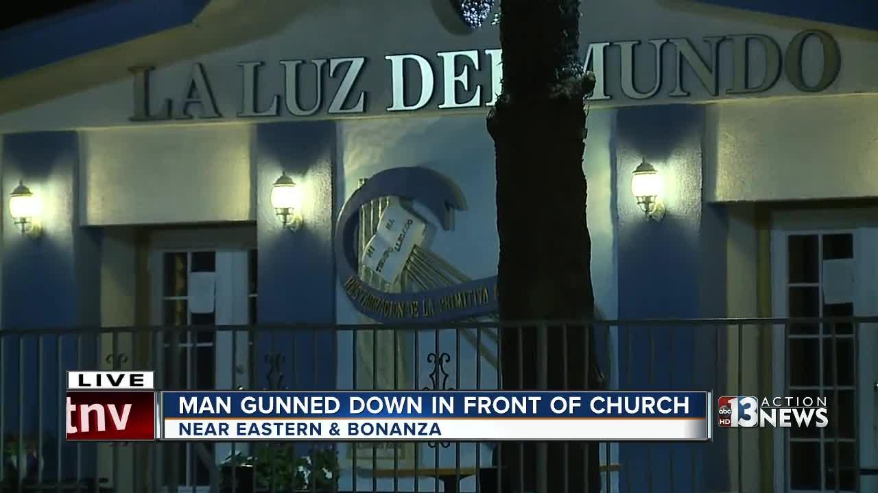 Man gunned down in front of church