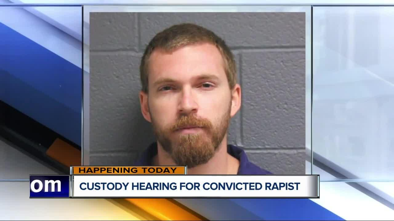 Joint custody hearing today for Michigan man convicted of rape