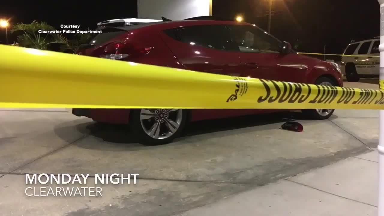 Victim shoots at suspects in stolen car   Digital Short