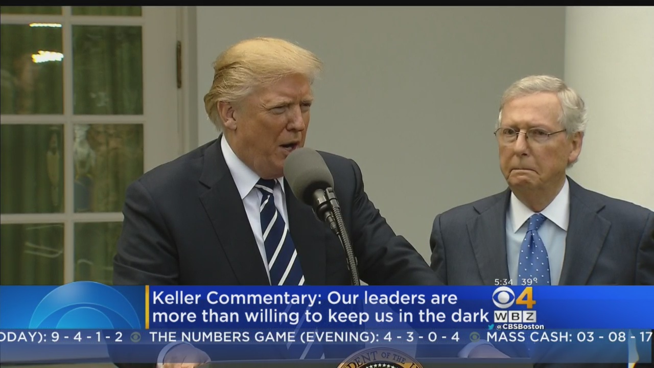 Keller @ Large: Why Do They Keep Lying To Us?