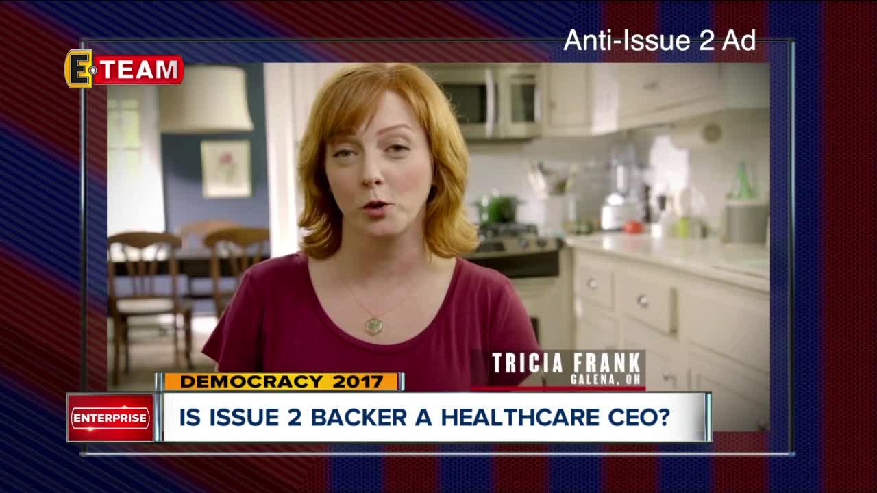 PolitiFact: Ad opposing Ohio Issue 2 wrongly portrays proponent as health care CEO