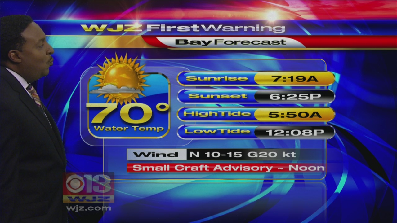 Meteorologist Tim Williams Tuesday Morning First Warning Weather