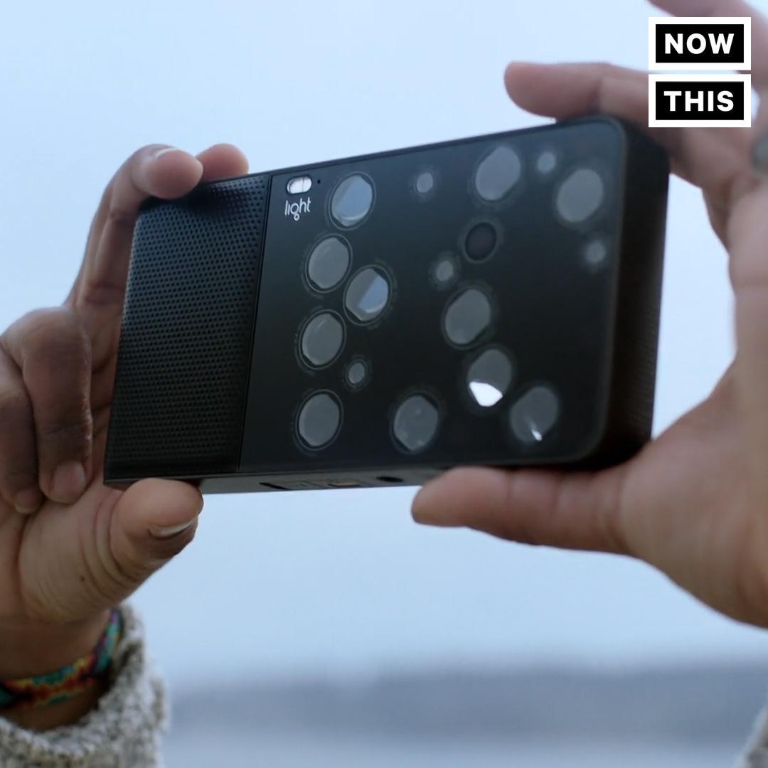 Phone-Sized Camera Has 16 Lenses