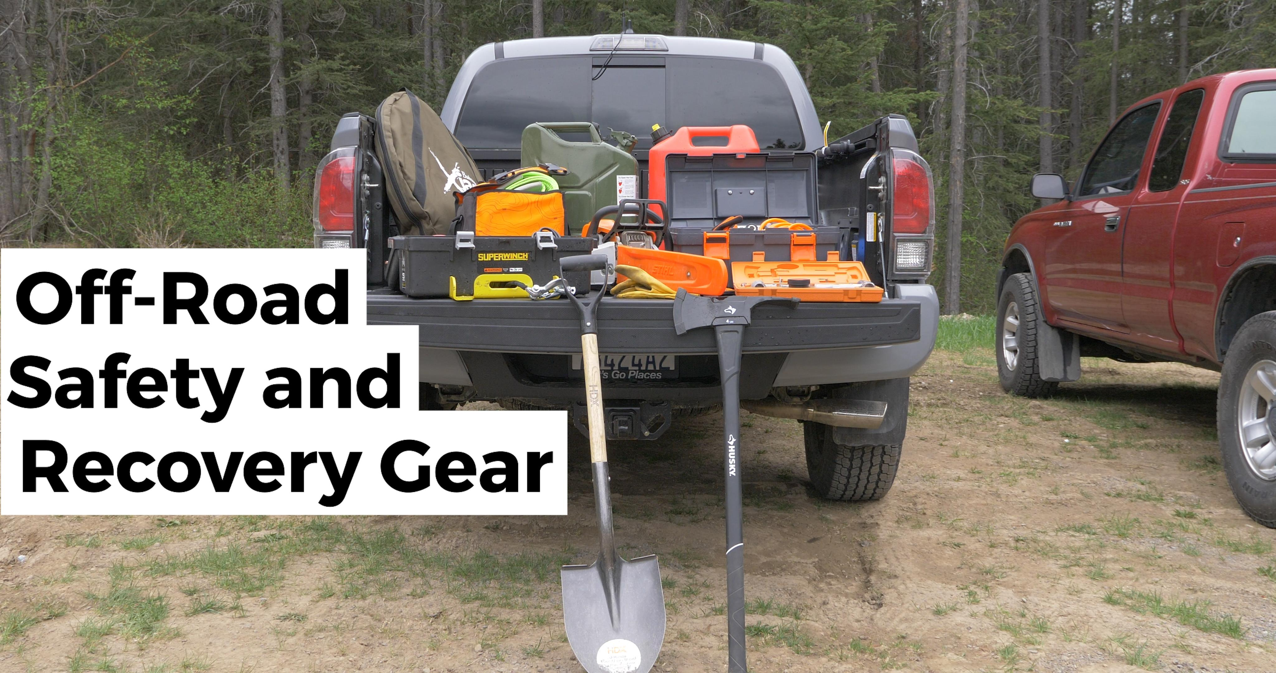 Off-Road Safety and Recovery Gear