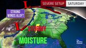 Damaging Storms Fire Up this Weekend