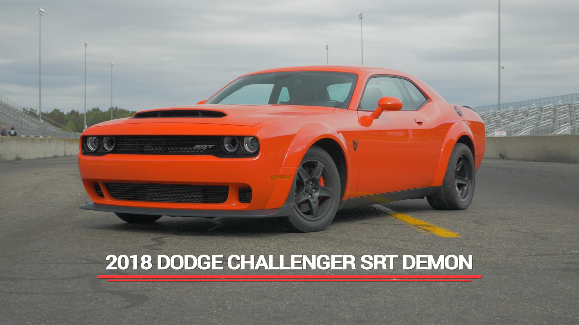 Final 2018 Dodge Challenger Srt Demon Leaves The Factory Autoblog