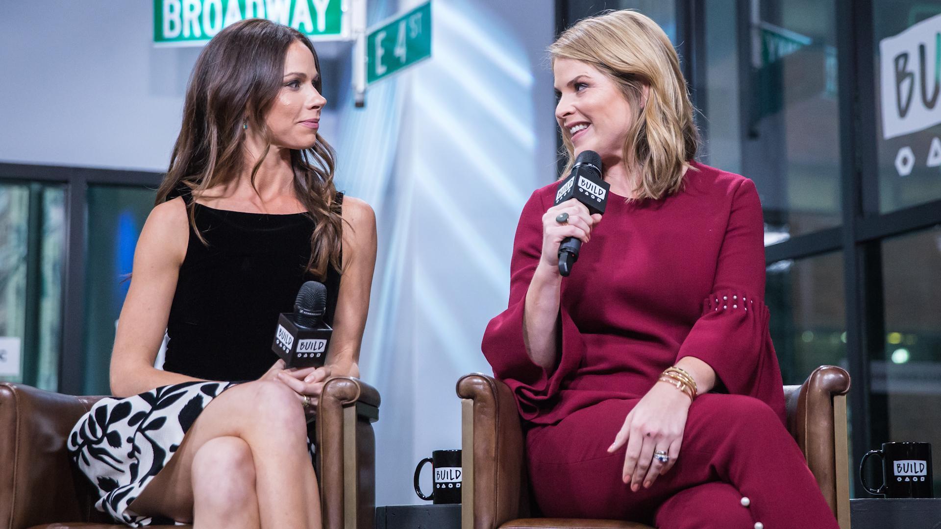 Jenna Bush Hager & Barbara Pierce Bush Reflect On Growing Up Under A  Microscope