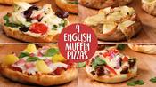 How to Make 4 English Muffin Pizzas
