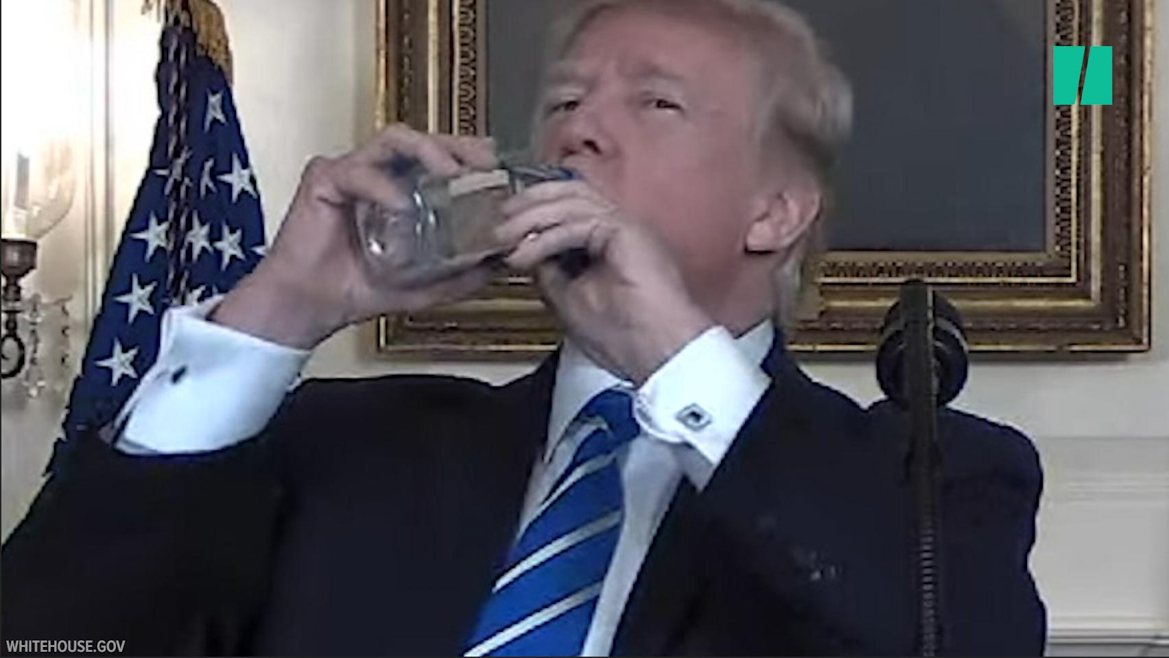 Trump Gets Thirsty