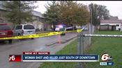 Woman found shot dead in a vehicle on Indianapolis' south side