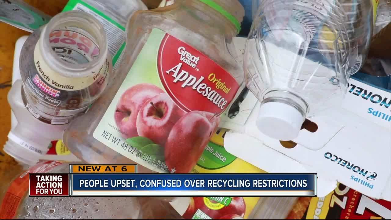 """Polk Waste and Recycling says """"no"""" to many items with new recycling process"""