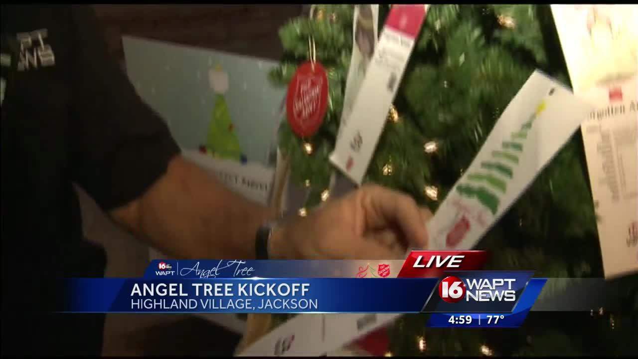 David Hartman kicks off Angel Tree program