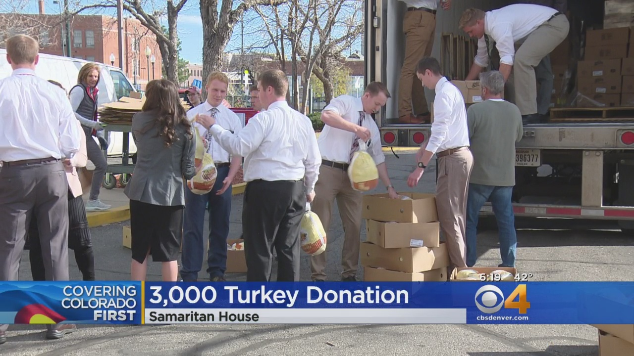 Samaritan House Receives Turkey Donation
