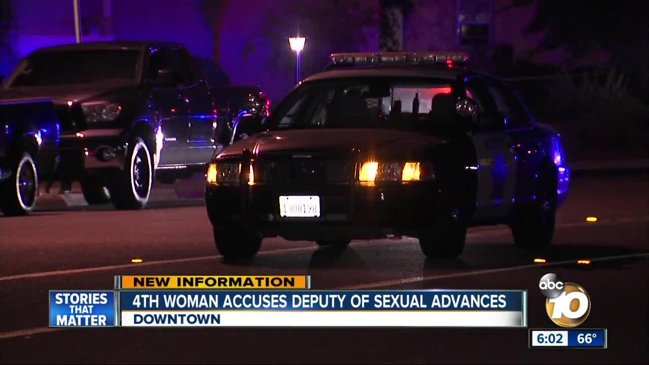 4th woman accuses San Diego deputy of sexual advances