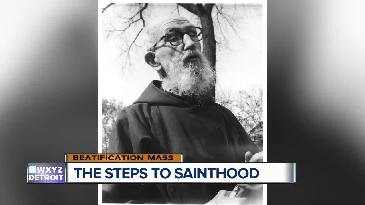 The steps to sainthood