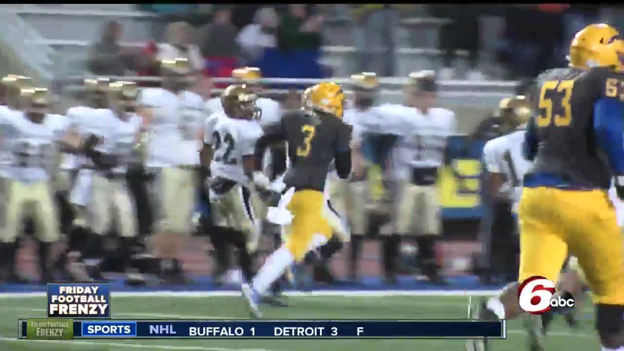 HIGHLIGHTS: Penn 34, Carmel 7