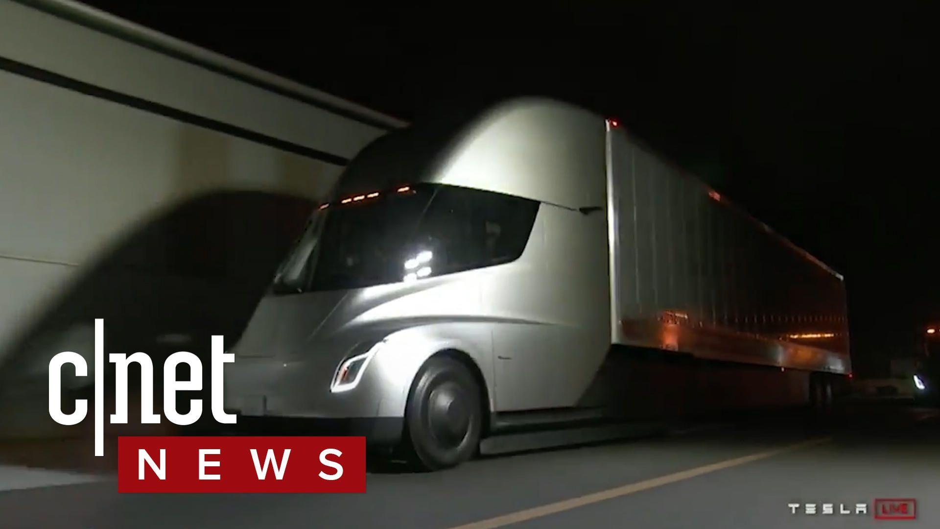 Tesla unveils Semi truck, EA makes changes to Star Wars Battlefront II