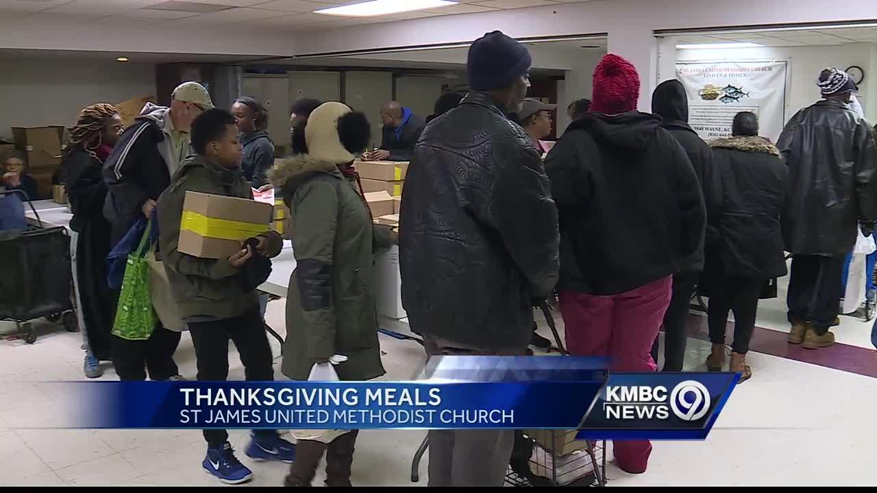 KC church helping hundreds of families with Thanksgiving meals