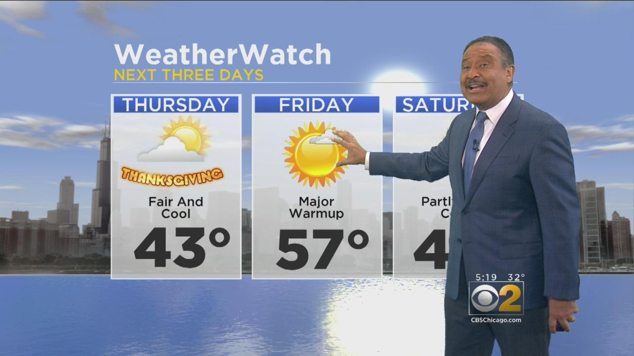 CBS 2 Weather Watch (5 p.m. Nov. 22, 2017)