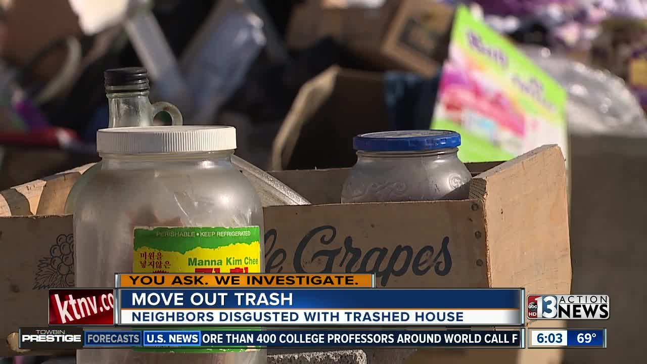 YAWI: Neighbors get help after living near trashed home for a week