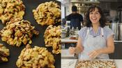Carla Makes Granola Cluster Cookies