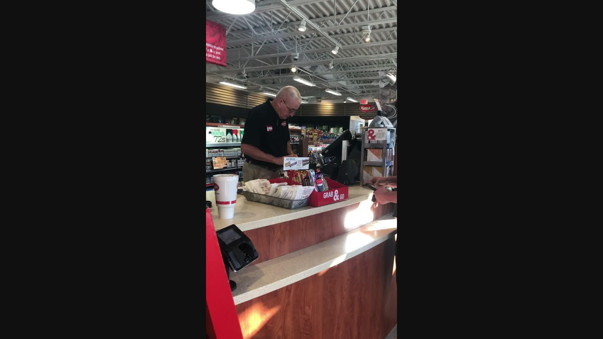 Gas Station Shows Poor Customer Service in Omaha